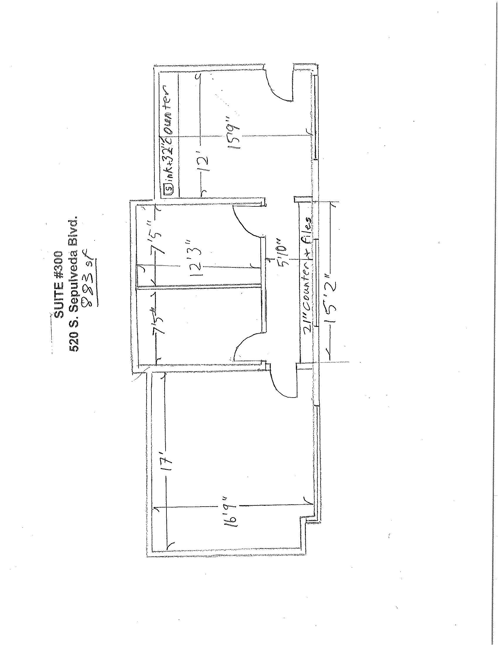Suite 300 Floor Plan